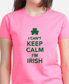 I can't keep calm I'm irish Tee
