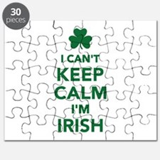 I can't keep calm I'm irish Puzzle