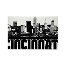 Cute Cincinnati Rectangle Magnet (10 pack)