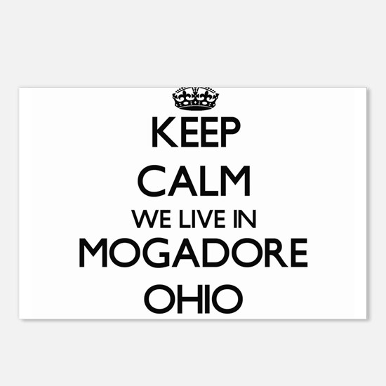 Keep calm we live in Moga Postcards (Package of 8)