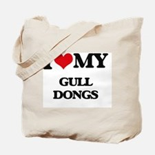Cute I heart ding dongs Tote Bag