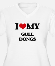 I love my Gull Dongs Plus Size T-Shirt