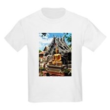 Golden Buddha at Silver Temple T-Shirt