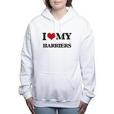 I love my Harriers Women's Hooded Sweatshirt