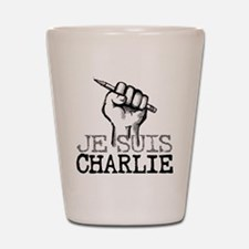 Je Suis Charlie Shot Glass