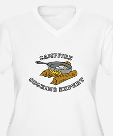 Campfire Cooking Expert Plus Size T-Shirt