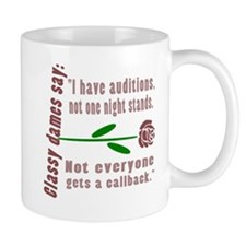Auditions Not One Night Stands Mug