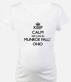 Keep calm we live in Munroe Fall Shirt