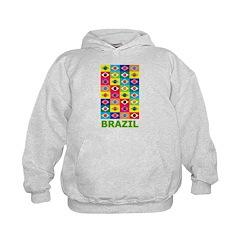 Pop Art Brazil Hoodie
