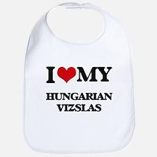 I love my Hungarian Vizslas Bib