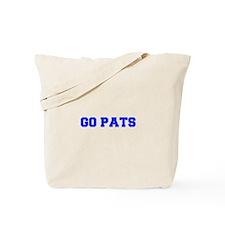 Go Pats-Fre blue Tote Bag