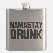 Namastay Drunk Flask