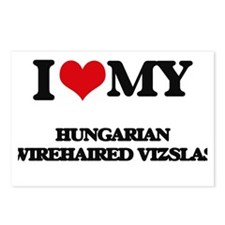 I love my Hungarian Wireh Postcards (Package of 8)