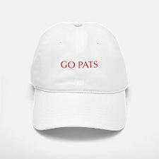 Go Pats-Opt red Baseball Baseball Baseball Cap