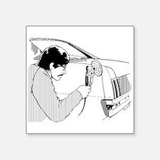Auto Body Worker Sticker