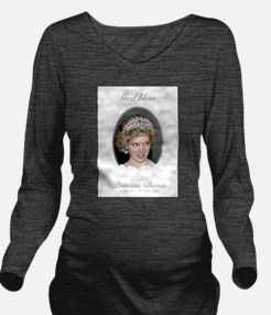 God Bless Princess D Long Sleeve Maternity T-Shirt