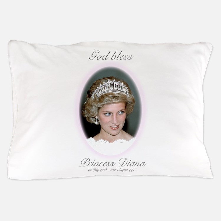 God Bless Princess Diana Pillow Case