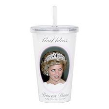 God Bless Princess Dia Acrylic Double-wall Tumbler