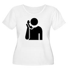 Answering Service Plus Size T-Shirt