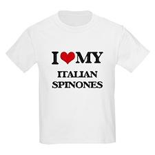 I love my Italian Spinones T-Shirt