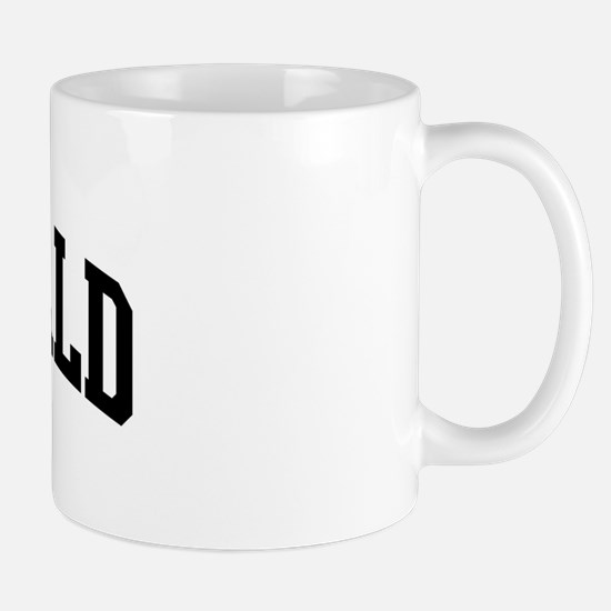 MCDONALD (curve-black) Mug