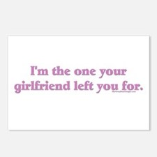 I'm the one your girlfriend l Postcards (Package o