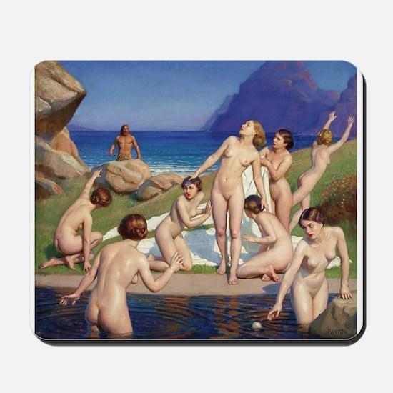 Classic nude art Mousepad