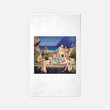 Classic nude art Area Rug