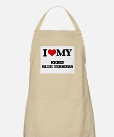 I love my Kerry Blue Terriers Apron