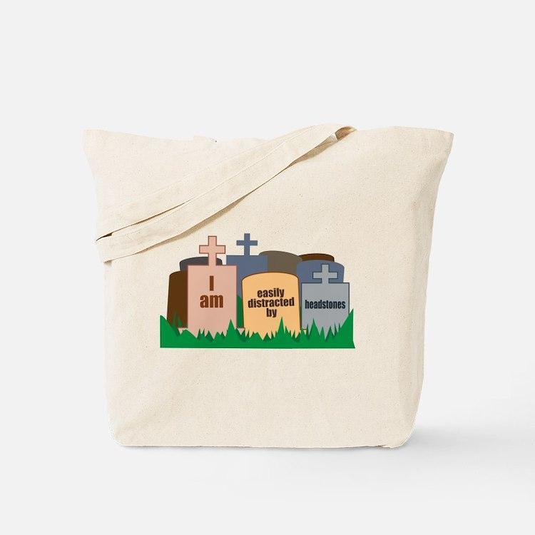 Distracted II Tote Bag