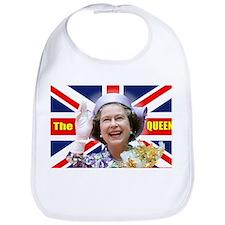 HM Queen Elizabeth II Great Britons! Bib