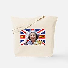HM Queen Elizabeth II Great Britons! Tote Bag
