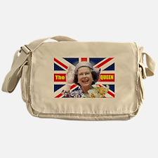 HM Queen Elizabeth II Great Britons! Messenger Bag