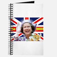 HM Queen Elizabeth II Great Britons! Journal