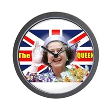 HM Queen Elizabeth II Great Britons! Wall Clock