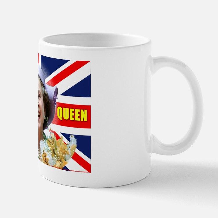 HM Queen Elizabeth II Great Britons! Mugs