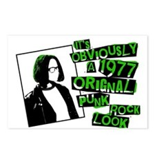 Punk rock Postcards (Package of 8)