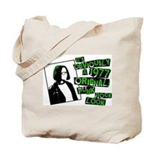Cute Punk rock Tote Bag