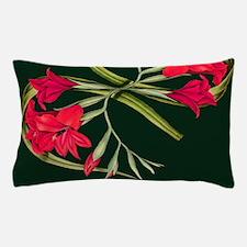Gladiola Botanical Flowers Floral Pillow Case