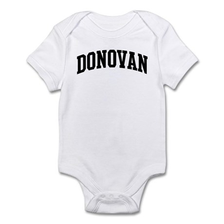 DONOVAN (curve-black) Infant Bodysuit