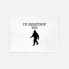 Im Squatchin You 5'x7'Area Rug