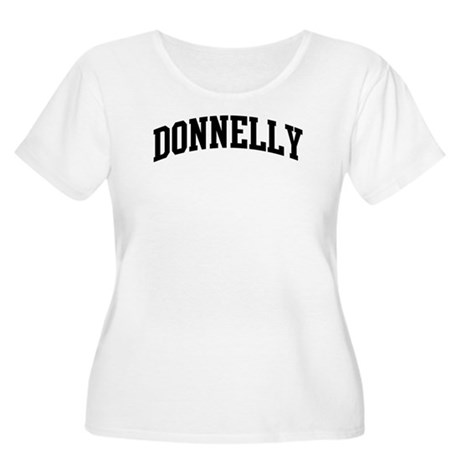DONNELLY (curve-black) Women's Plus Size Scoop Nec