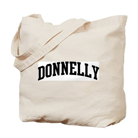 DONNELLY (curve-black) Tote Bag