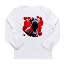 giant schnauzer natural Long Sleeve Infant T-Shirt