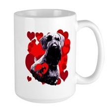 giant schnauzer natural ear Mug