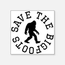 Save The Bigfoots Sticker