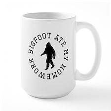 Bigfoot Ate My Homework Mugs