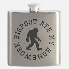 Bigfoot Ate My Homework Flask