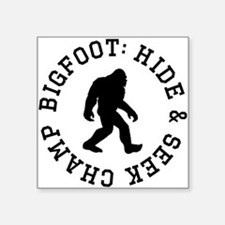 Bigfoot: Hide And Seek Champ Sticker