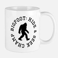 Bigfoot: Hide And Seek Champ Mugs